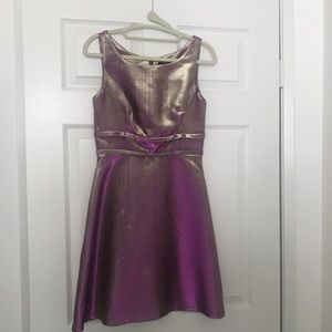 Cynthia Rowley -Metallic Shimmer Dress SZ 2
